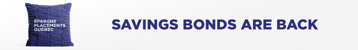 Promotion : Savings Bonds